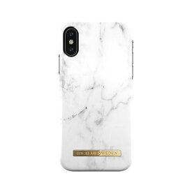IDEAL OF SWEDEN iPhone XS/X用ケース ホワイトマーブル IDFCA16-IXS-22