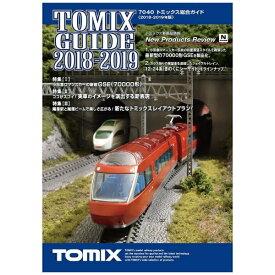 トミーテック TOMY TEC 【Nゲージ】7040 トミックス総合ガイド(2018-2019年版)