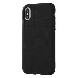 イングレム Ingrem iPhone XS/X 耐衝撃ケース URBAN MIL規格/ブラック IN-P20AC3/B ブラック