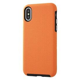 イングレム Ingrem iPhone XS/X 耐衝撃ケース URBAN MIL規格/オレンジ IN-P20AC3/O オレンジ