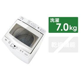 AQUA アクア 【ビックカメラグループオリジナル】AQW-BK70G-FW 全自動洗濯機 フロストホワイト [洗濯7.0kg /乾燥機能無][AQWBK70G_FW]【洗濯機】【point_rb】