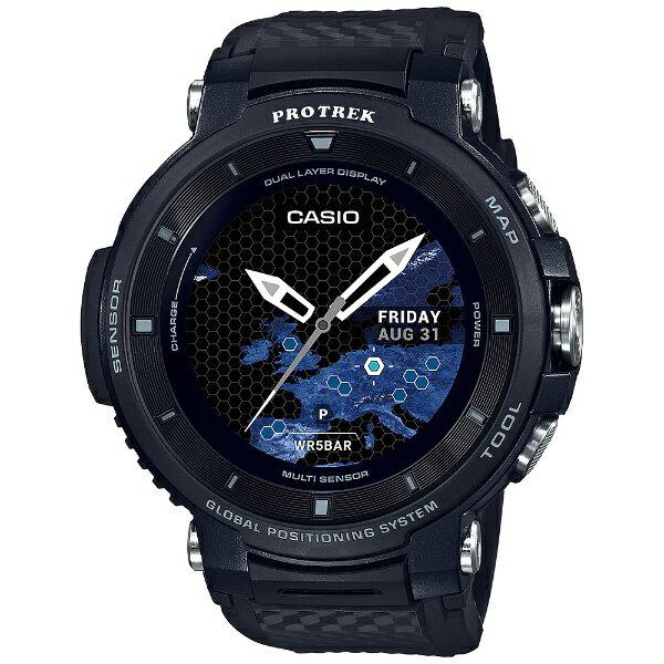 カシオ CASIO PRO TREK Smart(プロトレックスマート) [メンズスマートウォッチ] WSD-F30-BK ブラック[WSDF30BK]