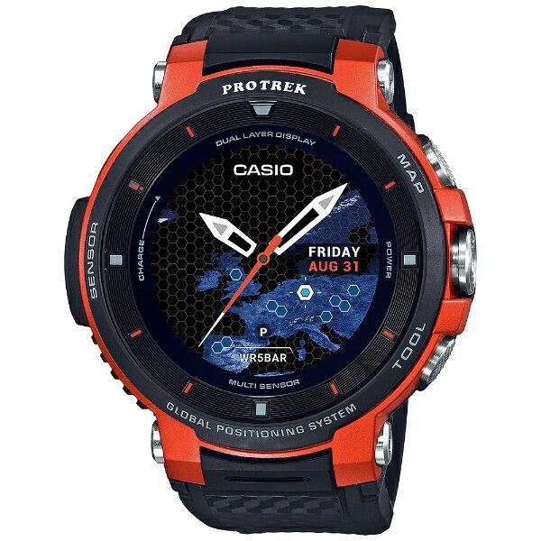 カシオ CASIO PRO TREK Smart(プロトレックスマート) [メンズスマートウォッチ] WSD-F30-RG オレンジ[WSDF30RG]