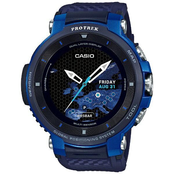 カシオ CASIO PRO TREK Smart(プロトレックスマート) [メンズスマートウォッチ] WSD-F30-BU ブルー[WSDF30BU]