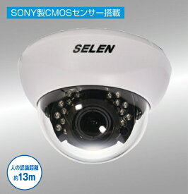 セレン SELEN 【ビックカメラグループオリジナル】フルハイビジョン赤外線投光器内蔵AHDドームカメラ SAHN281