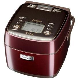 三菱 Mitsubishi Electric 【ビックカメラグループオリジナル】NJ-SU06R-V 炊飯器 炭炊釜 [3.5合 /IH][一人暮らし 新生活 NJSU06R]【point_rb】
