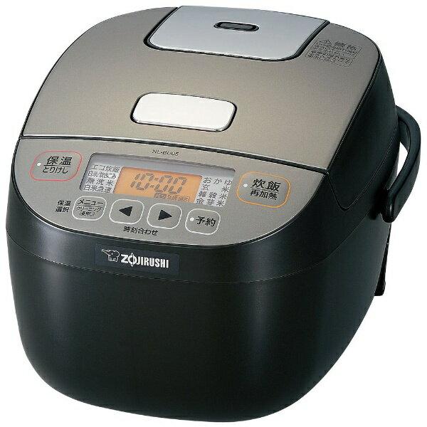 象印マホービン ZOJIRUSHI NL-BU05-BA 炊飯器 極め炊き ブラック [3合 /マイコン][NLBU05]