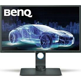 BenQ ベンキュー PD3200U 32型デザイナー向けモニター/ディスプレイ(4K/IPS/ノングレア/sRGB 100%/KVM機能/MST/PIP・PBP/ブルーライト軽減/HDMI/DP/miniDP/スピーカー付/ピボット) PDシリーズ グレ- PD3200U [32型 /ワイド /4K(3840×2160)][PD3200U]