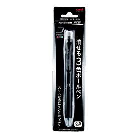 三菱鉛筆 MITSUBISHI PENCIL [ボールペン] 3色ボールペン URE3-500-051P ブラック