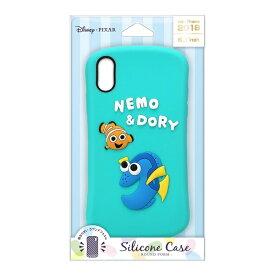 PGA iPhone XR用 シリコンケース PG-DCS503NEM ニモ&ドリー