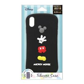 PGA iPhone XS Max用 シリコンケース PG-DCS527MKY ミッキーマウス