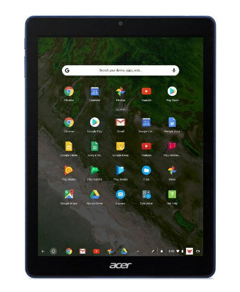 ACER エイサー Chromeタブレット Chromebook Tab 10 D651N-F14M コバルトブルー [9.7型ワイド /ストレージ:32GB /Wi-Fiモデル][D651NF14M]