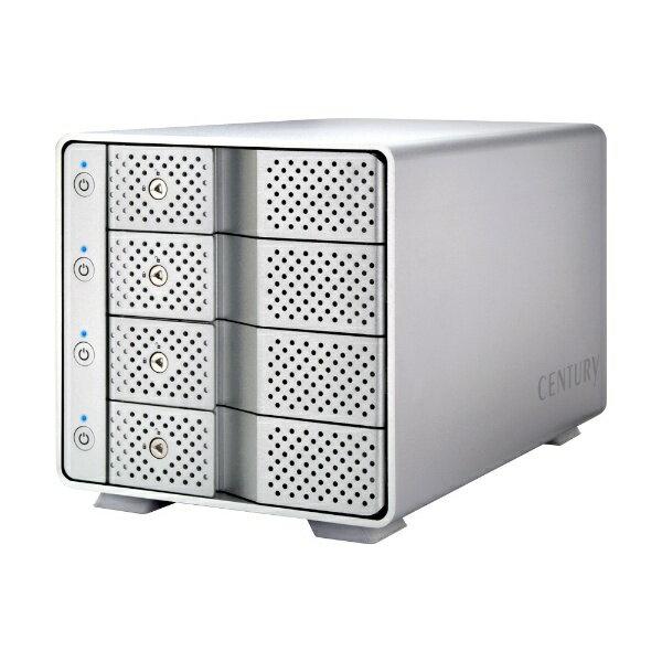 センチュリー Century Corporation HDDケース 3.5インチ SATA 4台[USB3.1] 裸族のカプセルホテル USB3.1 CRCH35U31CIS [4台 /4][CRCH35U31CIS]