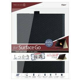 ナカバヤシ Nakabayashi SurfaceGo(2018年)用 ハードケースカバー TBC-SFG1807BK ブラック[サーフェスgo]