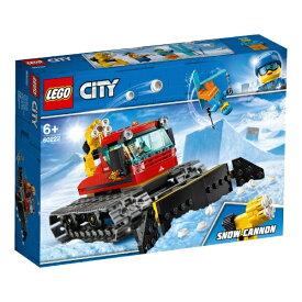 レゴジャパン LEGO 60222 シティ スキー場の除雪車[レゴブロック]