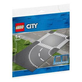 レゴジャパン LEGO 60237 シティ ロードプレート カーブと交差点[レゴブロック]