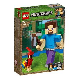 レゴジャパン LEGO LEGO(レゴ) 21148 マインクラフト ビッグフィグ スティーブとオウム[レゴブロック]