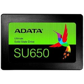 ADATA エイデータ ASU650SS-240GT-R 内蔵SSD Ultimate SU650 [2.5インチ /240GB]【バルク品】 [ASU650SS240GTR]