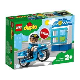 レゴジャパン LEGO 10900 デュプロ ポリスとバイク[レゴブロック]