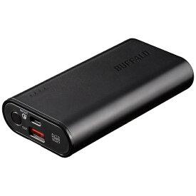 BUFFALO バッファロー モバイルバッテリー ブラック BSMPB10018C2 [10050mAh /Quick Charge対応 /2ポート /充電タイプ]