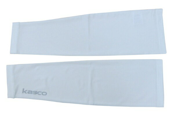 キャスコ KAG1625 メンズアームカバー ホワイト M