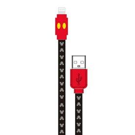 グルマンディーズ gourmandise [ライトニング] ディズニーキャラクター 同期&充電ケーブル ミッキーマウス DN-527A