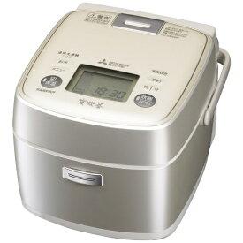三菱 Mitsubishi Electric 【ビックカメラグループオリジナル】NJ-SU06R-S 炊飯器 炭炊釜 シルバー [3.5合 /IH][NJSU06R]【point_rb】