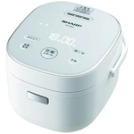 シャープ SHARP KS-CF05A-W 炊飯器 ホワイト系 [3合 /マイコン][KSCF05AW]