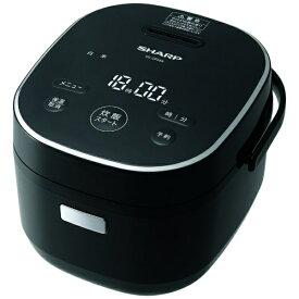 シャープ SHARP KS-CF05A-B 炊飯器 ブラック系 [3合 /マイコン][KSCF05AB]