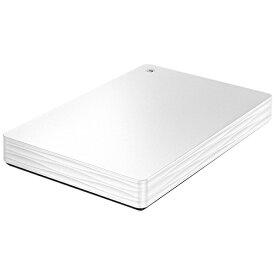 I-O DATA アイ・オー・データ HDPH-UT500WR 外付けHDD ホワイト [ポータブル型 /500GB][HDPHUT500WR ハードディスク テレビ]