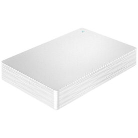 I-O DATA アイ・オー・データ HDPH-UT2DWR 外付けHDD ホワイト [ポータブル型 /2TB][HDPHUT2DWR]