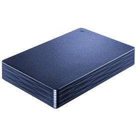I-O DATA アイ・オー・データ HDPH-UT2DNVR 外付けHDD ミレニアム群青 [ポータブル型 /2TB][HDPHUT2DNVR]