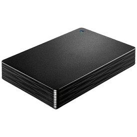 I-O DATA アイ・オー・データ HDPH-UT4DKR 外付けHDD ブラック [ポータブル型 /4TB][HDPHUT4DKR]
