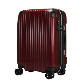 エスケープ ESCAPE スーツケースハードジッパー ESC2125-65MRD メタリックレッド [90-102L]