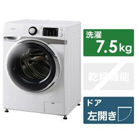 アイリスオーヤマ IRIS OHYAMA HD71WS ドラム式洗濯機 [洗濯7.5kg /左開き][HD71WS]