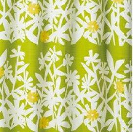 スミノエ SUMINOE ドレープカーテン クチナシ(100×178cm/イエローグリーン)【日本製】