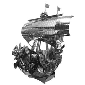 テンヨー メタリックナノパズル T-MP-008 ワンピース サウザンド・サニー号
