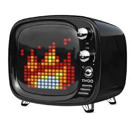 Divoom ディブーム ブルートゥース スピーカー TIVOO BLACK ブラック [Bluetooth対応][TIVOOBLACK]