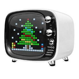 Divoom ディブーム ブルートゥース スピーカー TIVOO WHITE ホワイト [Bluetooth対応][TIVOOWHITE]