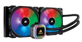CORSAIR コルセア 水冷CPUクーラー H115i RGB PLATINUM CW-9060038-WW [Intel LGA2066/LGA2011/LGA1366/LGA1156/LGA1155/LGA1151/LGA1150/・AMD Socket/TR4/AM4/AM2/AM3/AM4/FM1/FM2][CW9060038WW]