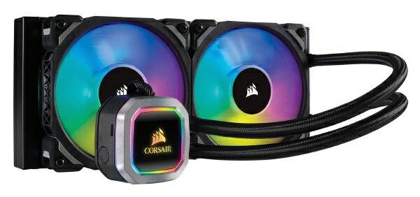 CORSAIR コルセア 水冷CPUクーラー H100i RGB PLATINUM CW-9060039-WW [Intel LGA2066/LGA2011/LGA1366/LGA1156/LGA1155/LGA1151/LGA1150/・AMD Socket/TR4/AM4/AM2/AM3/AM4/FM1/FM2][CW9060039WW]
