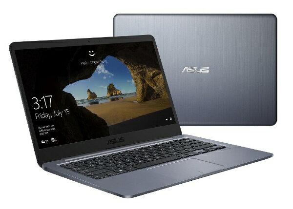 ASUS エイスース L406SA-S43060G ノートパソコン スターグレー [14.0型 /intel Celeron /eMMC:64GB /メモリ:4GB /2018年12月モデル][L406SAS43060G]