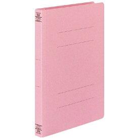 コクヨ KOKUYO フラットファイル W ワイド 樹脂製とじ具 A4縦 25mmとじ フ-W10NP ピンク
