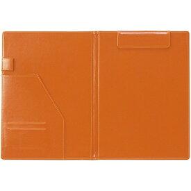 セキセイ SEKISEI [クリップファイル] ベルポスト (A4) BP-5724-68 表紙 ブラック・内側 オレンジ