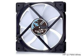 FRACTAL DESIGN フラクタルデザイン ケースファン[120mm / 1800RPM] Fractal Design Venturi HP-12 PWM White FD-FAN-VENT-HP12-PWM-WT ホワイト/ブラック[FDFANVENTHP12PWMWT]