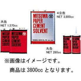 ミツワ 三和商事 ソルベント 4L缶 3800cc