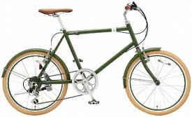 アサヒサイクル Asahi Cycle 20型 クロスバイク シークレットコード206(マットグリーン/460サイズ《適応身長:約150cm以上》) SCH206【組立商品につき返品不可】【b_pup】 【代金引換配送不可】