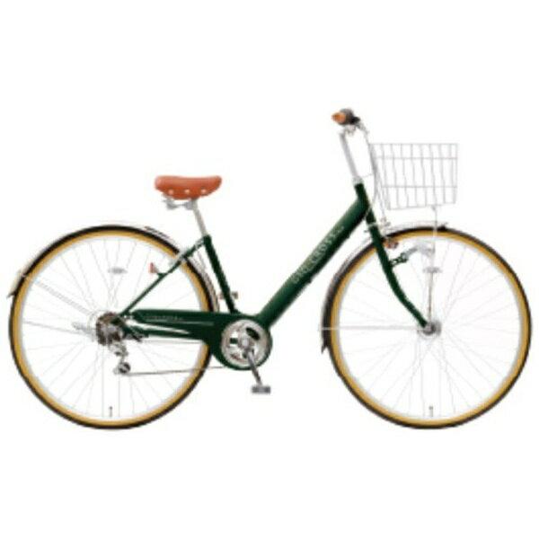 アサヒサイクル Asahi Cycle 27型 自転車 ジオクロスプラス 276BH(ディープグリーン/外装6段変速) FV76BH【2019年モデル】【組立商品につき返品不可】【b_pup】 【代金引換配送不可】【メーカー直送・代金引換不可・時間指定・返品不可】