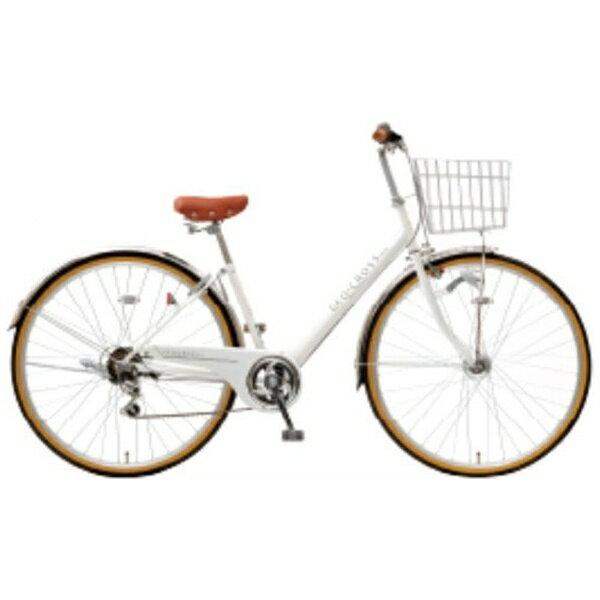 アサヒサイクル Asahi Cycle 27型 自転車 ジオクロスプラス 276BH(ホワイト/外装6段変速) FV76BH【2019年モデル】【組立商品につき返品不可】【b_pup】 【代金引換配送不可】【メーカー直送・代金引換不可・時間指定・返品不可】
