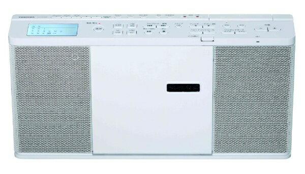 東芝 TOSHIBA CDラジオ(ラジオ+SD+USBメモリー+CD) TY-CX700(W) ホワイト [ワイドFM対応][TYCX700]